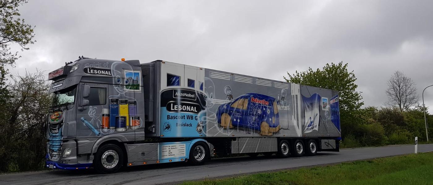 """Spirit of Lesonal"" Truck"